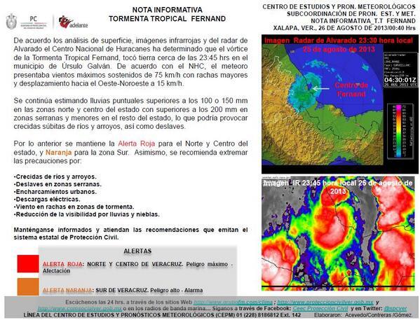 tormenta en Veracruz, lluvias,