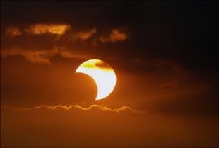 Eclipse de Sol parcial en México