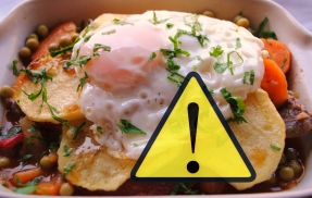 Alimentos contaminados