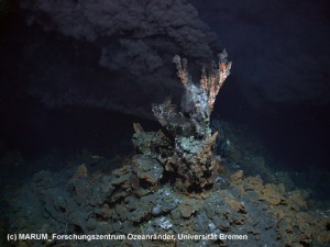 Fumarola hidrotermal submarina