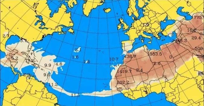 Polvo del Sahara llega a Tamaulipas